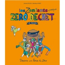 "French Book : ""Les zenfants zéro déchet - Ze mission"""